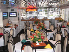 Special order wines and service for cocktail and dinner cruises.